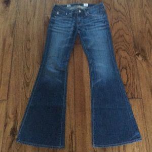 AG Belle Petite Flare Jeans